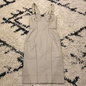 Dolce & Gabbana Tan Strappy Dress